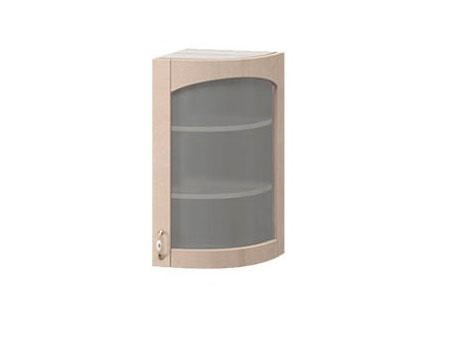МВ-29В правый Торцевой шкаф-витрина 325х320х900