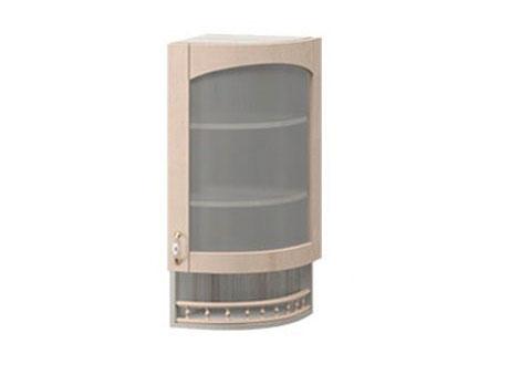 МВ-30В правый Торцевой шкаф-витрина 325х320х1155