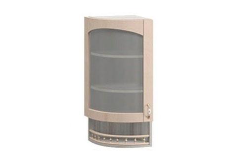 МВ-30В левый Торцевой шкаф-витрина 325х320х1155