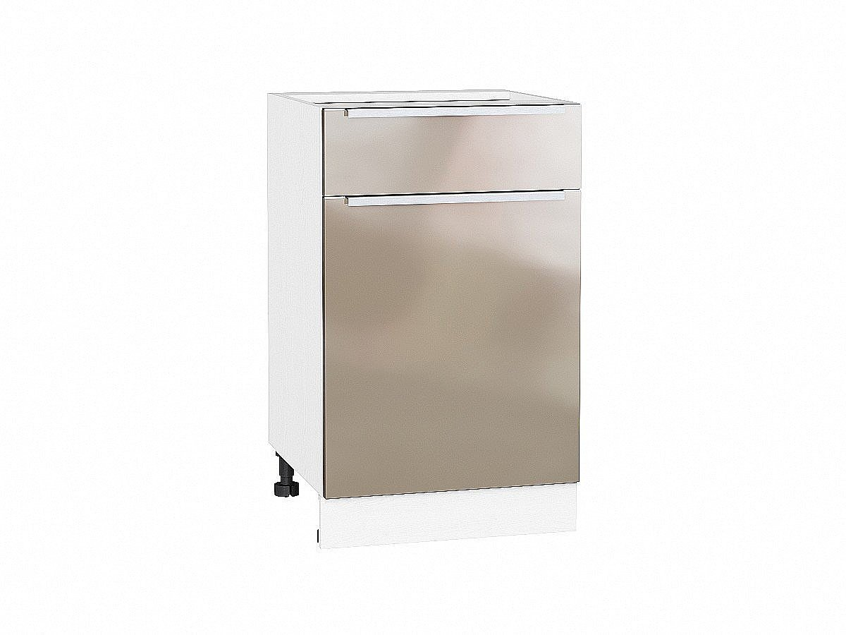 Шкаф нижний с 1-ой дверцей и ящиком Фьюжн 500