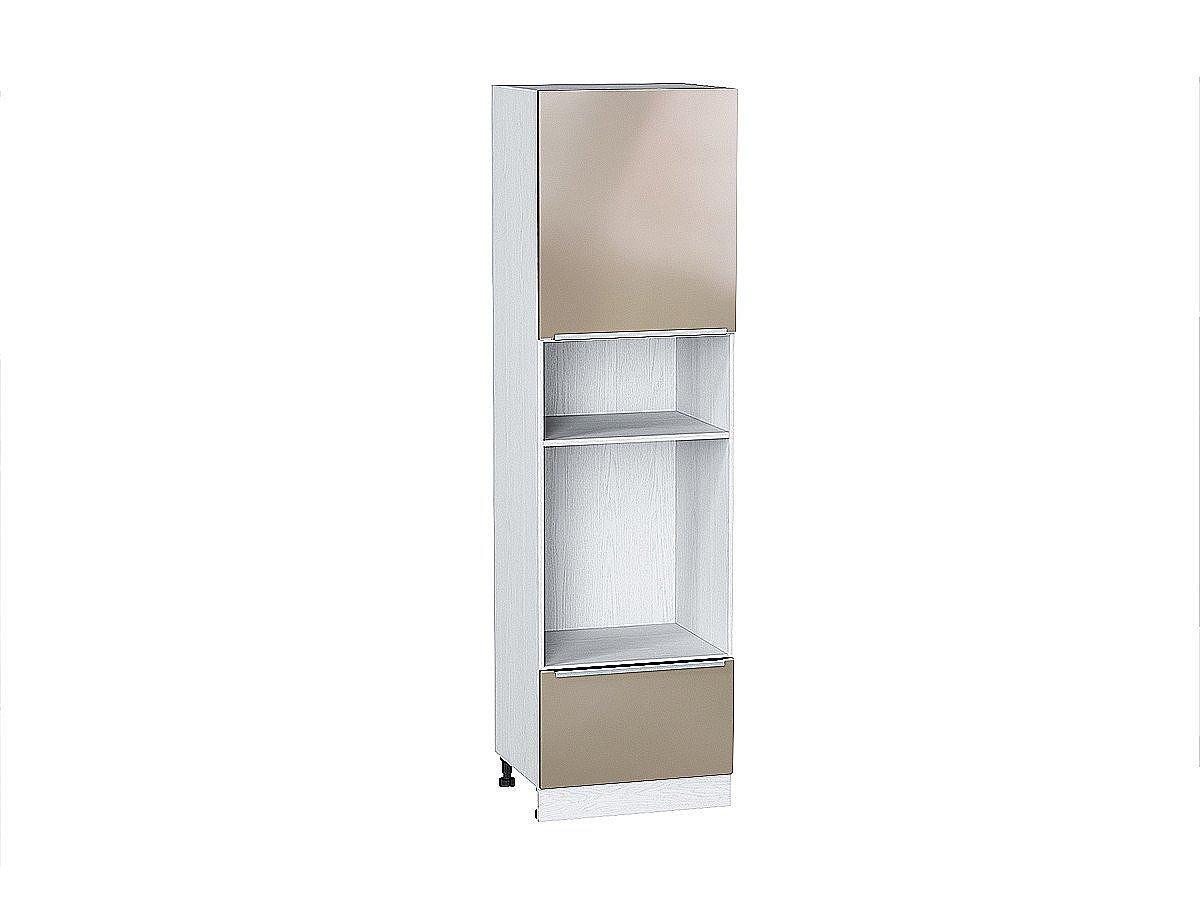 Шкаф пенал под бытовую технику с 2-мя дверцами Фьюжн 606