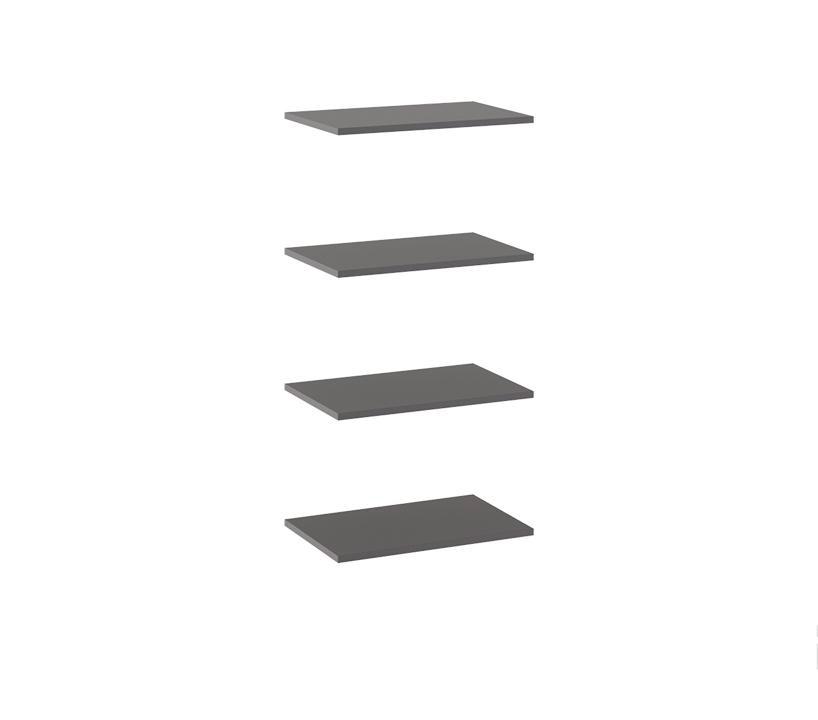 Комплект полок шкафа для одежды «Наоми» ТД-208.07.26-01