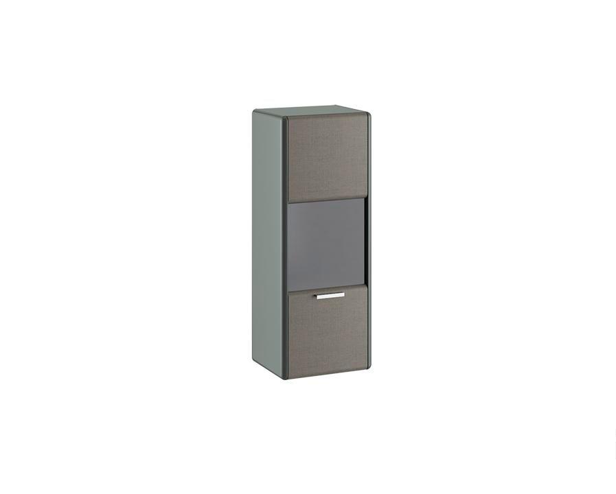 Шкаф навесной «Наоми» (Джут, Фон серый)