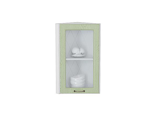 Шкаф верхний торцевой остекленный Ницца 920