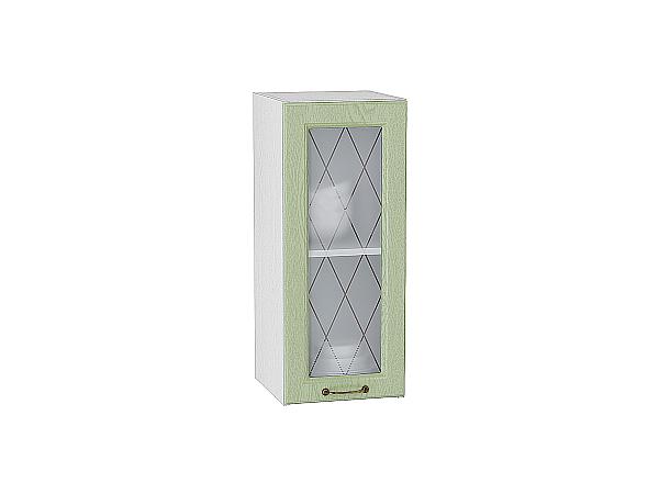 Шкаф верхний с 1-ой остекленной дверцей Ницца 300