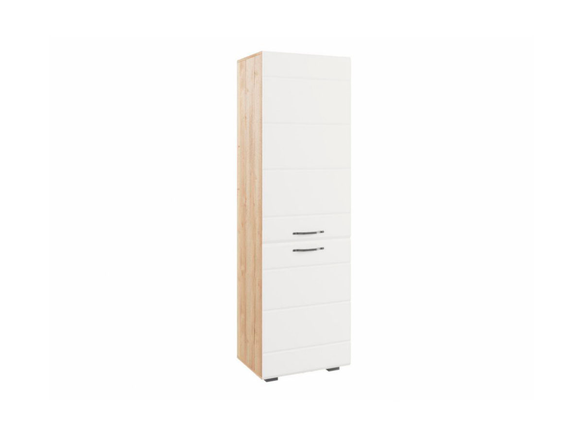 """Шкаф """"Асти"""" АШК 600.1 Белый глянец"""