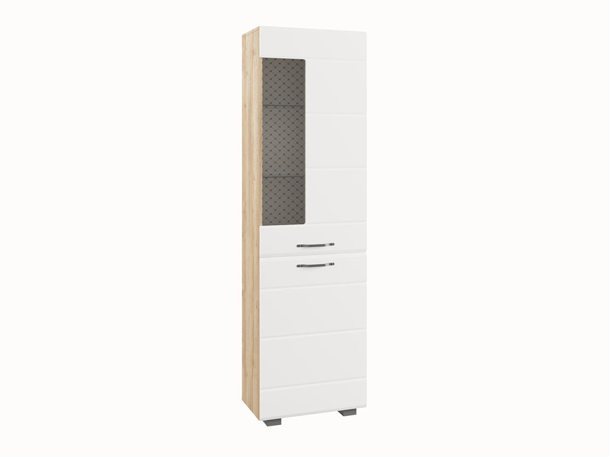 """Шкаф """"Асти"""" АШКС 600.1 Белый глянец"""