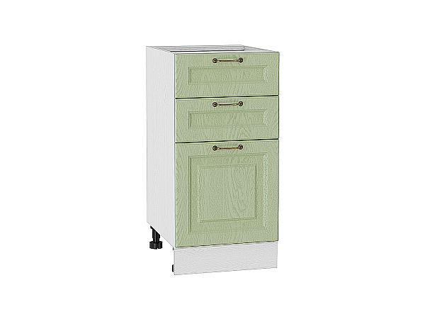 Шкаф нижний с 3-мя ящиками Ницца 400