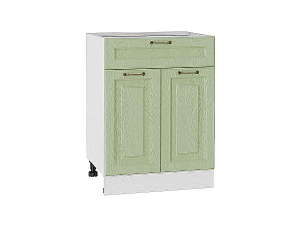 Шкаф нижний с 2-мя дверцами и ящиком Ницца 600