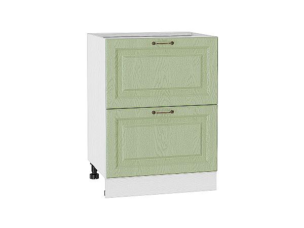 Шкаф нижний с 2-мя ящиками Ницца 600