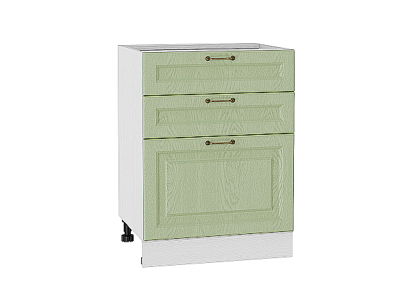 Шкаф нижний с 3-мя ящиками Ницца 600