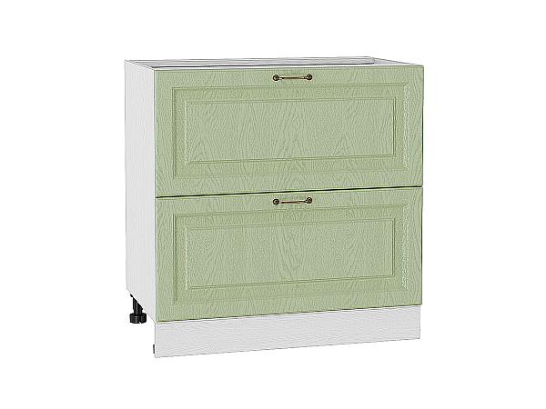 Шкаф нижний с 2-мя ящиками Ницца 800