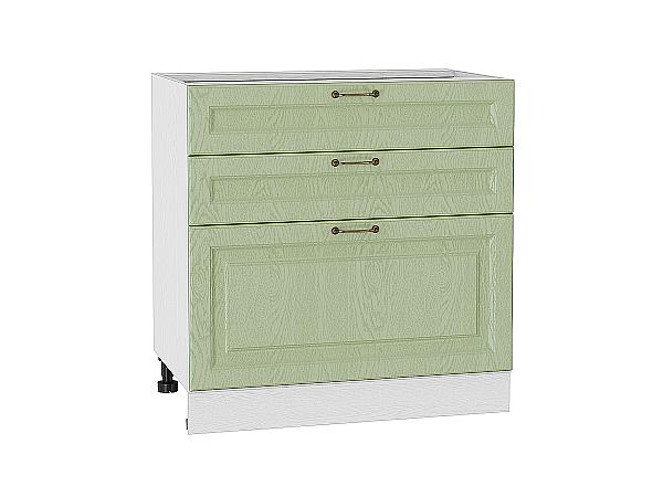 Шкаф нижний с 3-мя ящиками Ницца 800