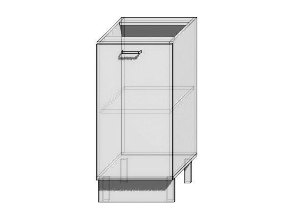 Шкаф нижний с 1-ой дверцей Валерия-М 450