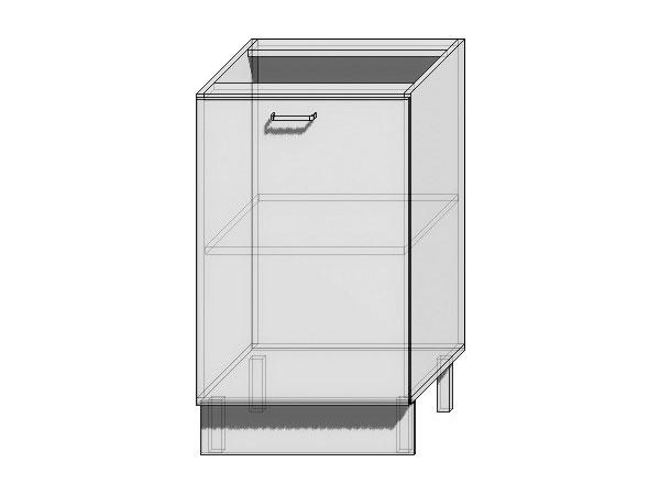 Шкаф нижний с 1-ой дверцей Loft 500
