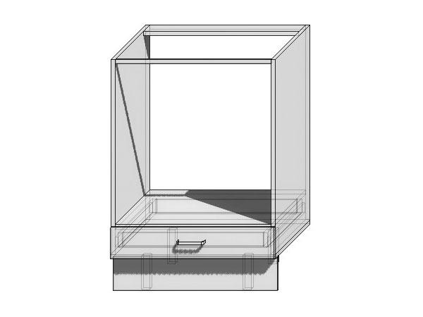 Шкаф нижний под духовку Loft 600