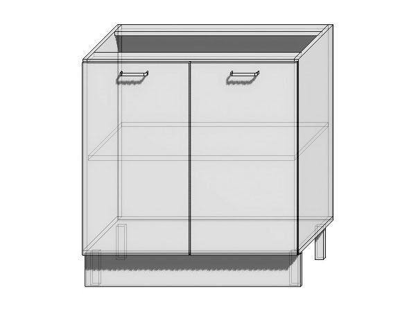 Шкаф нижний с 2-мя дверцами Вита 800
