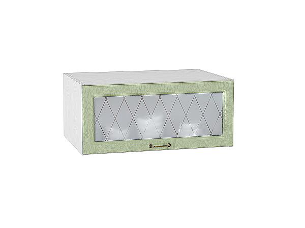 Шкаф верхний горизонтальный остекленный с увеличенной глубиной Ницца 800