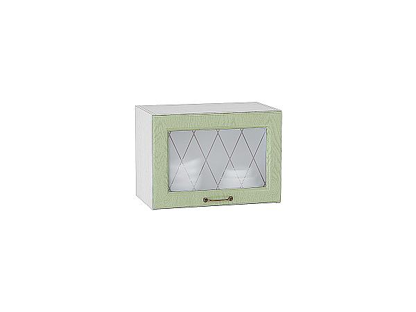 Шкаф верхний горизонтальный остекленный с увеличенной глубиной Ницца 600