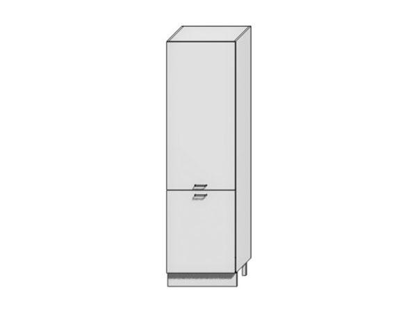 Шкаф пенал под бытовую технику с 1-ой дверцей и с 2-мя ящиками Вита 600