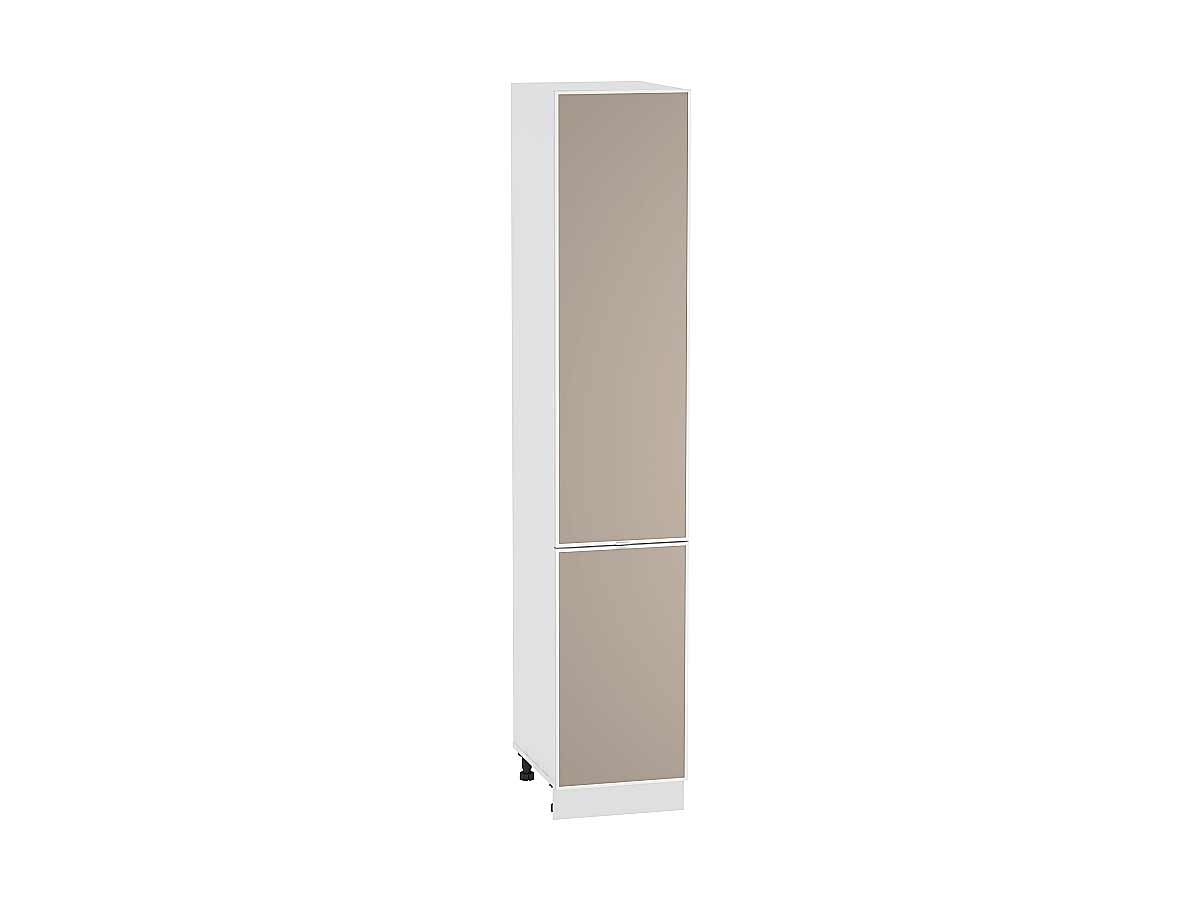 Шкаф пенал с 2-мя дверцами Фьюжн-AL 400 (для верхних шкафов высотой 720)