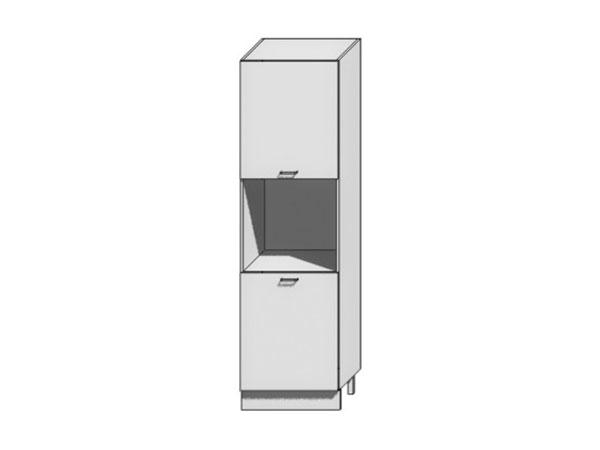 Шкаф пенал под бытовую технику с 2-мя дверцами Loft 400