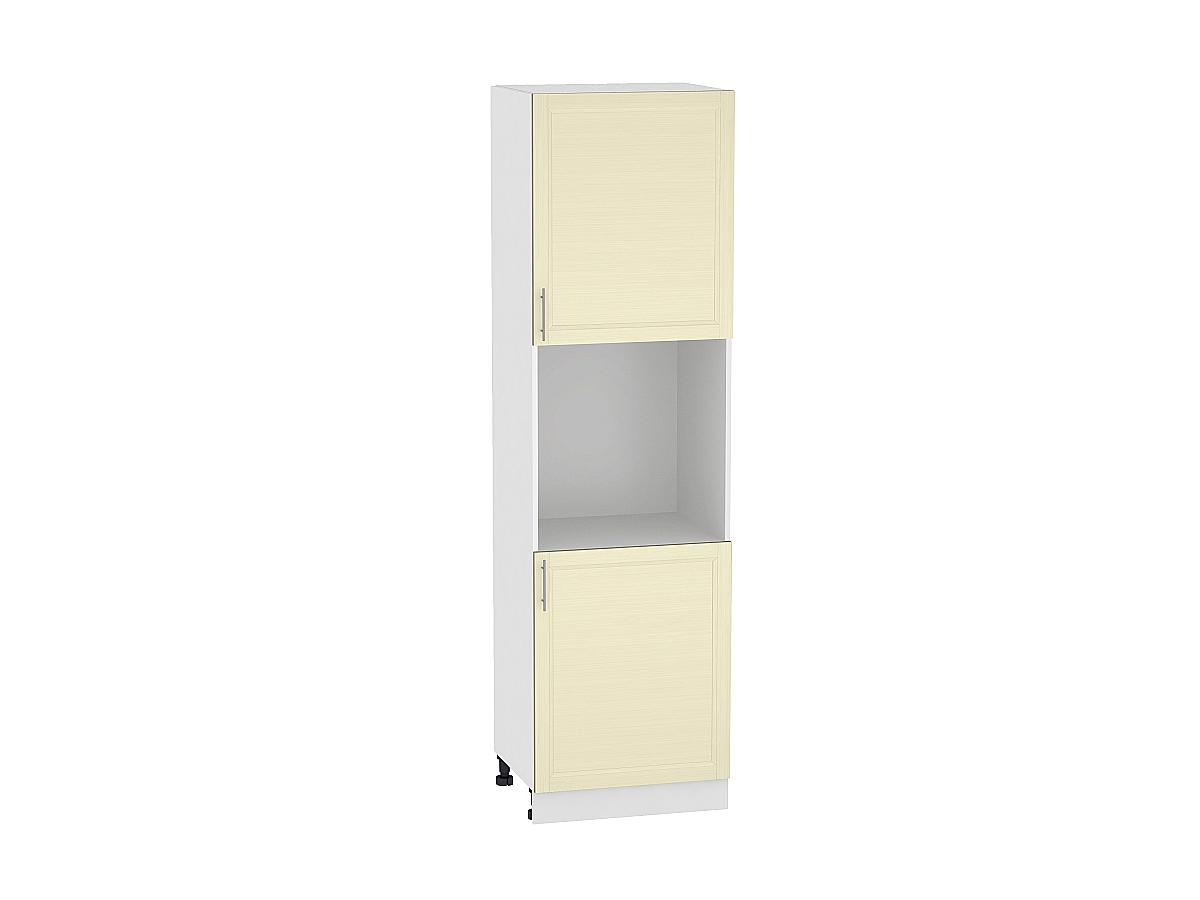 Шкаф пенал под бытовую технику с 2-мя дверцами Сканди 600 (для верхних шкафов высотой 720)