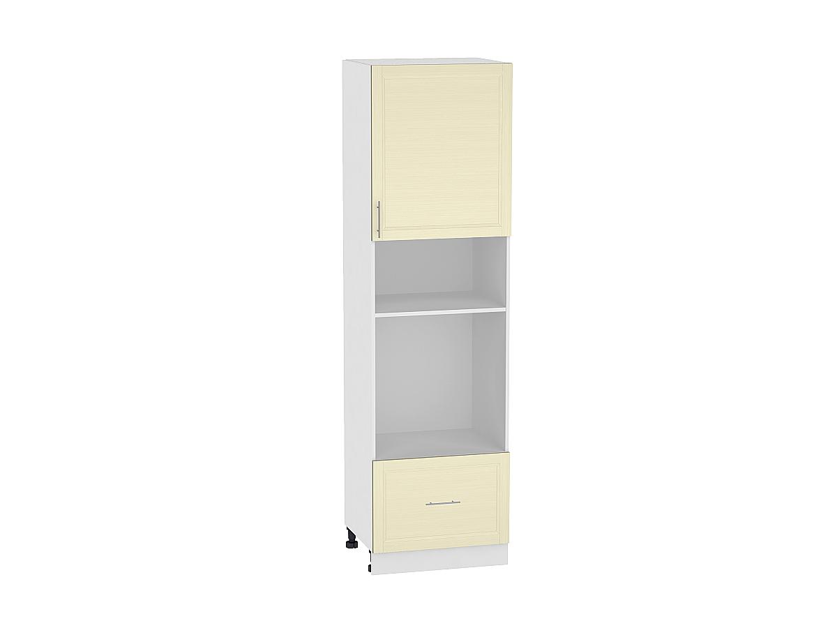 Шкаф пенал под бытовую технику с 2-мя дверцами Сканди 606Н (для верхних шкафов высотой 920)