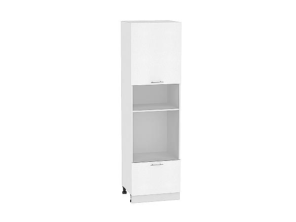Шкаф пенал под бытовую технику с 2-мя дверцами Валерия-М 606 (для верхних шкафов высотой 720)