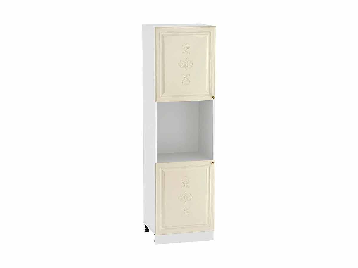 Шкаф пенал под бытовую технику с 2-мя дверцами Версаль 600
