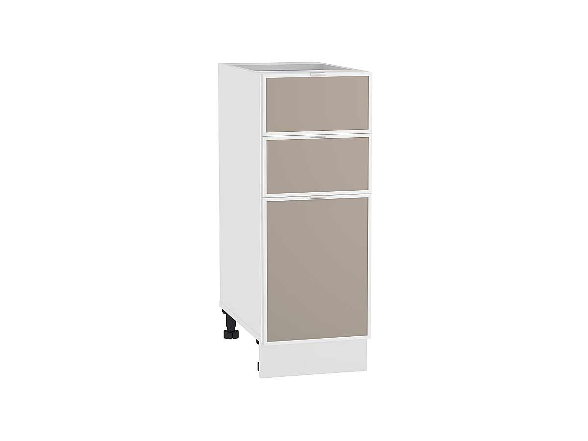 Шкаф нижний с 3-мя ящиками Фьюжн-AL 300