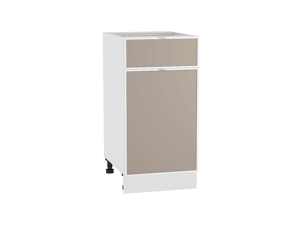 Шкаф нижний с 1-ой дверцей и ящиком Фьюжн-AL 400