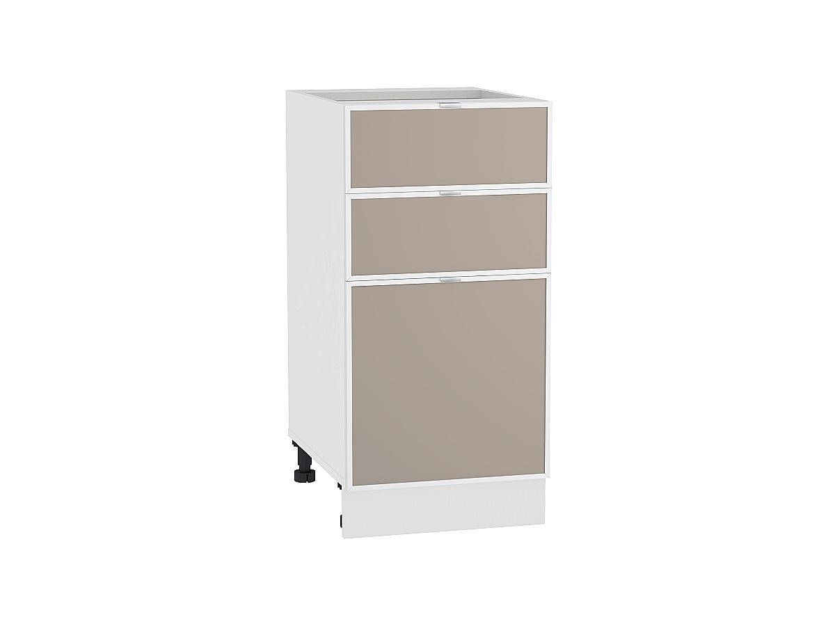 Шкаф нижний с 3-мя ящиками Фьюжн-AL 400