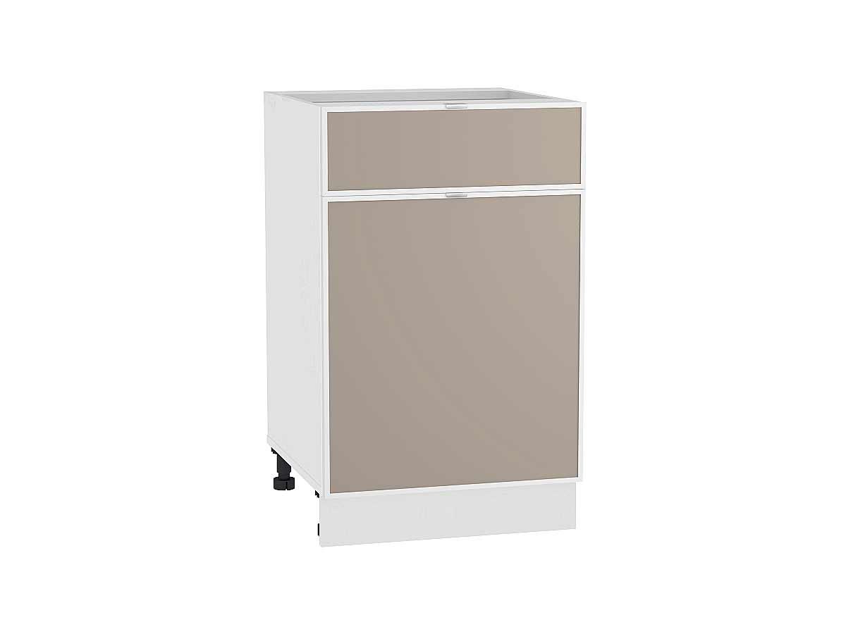Шкаф нижний с 1-ой дверцей и ящиком Фьюжн-AL 500