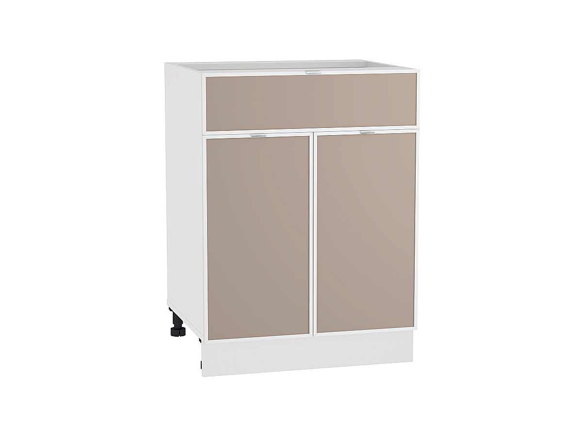 Шкаф нижний с 2-мя дверцами и ящиком Фьюжн-AL 600
