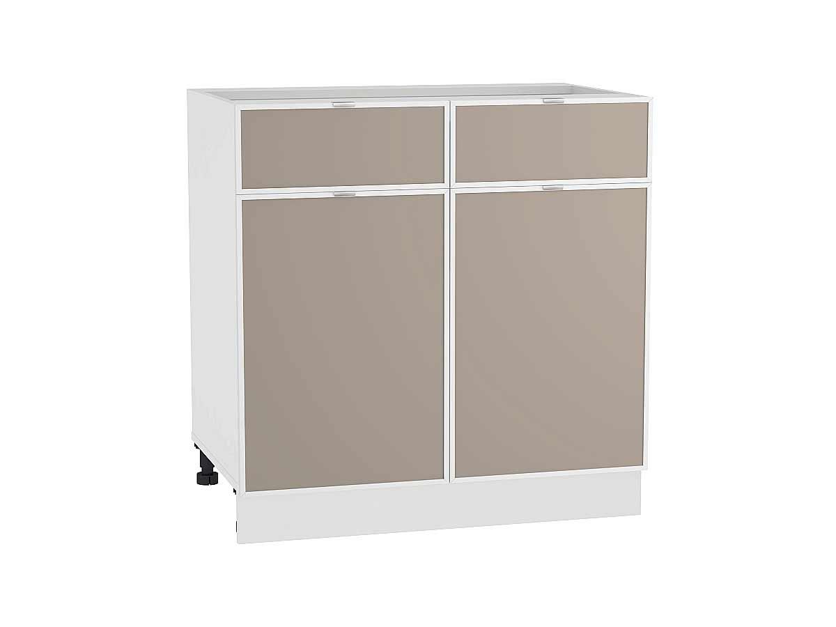 Шкаф нижний с 2-мя дверцами и 2-мя ящиками Фьюжн-AL