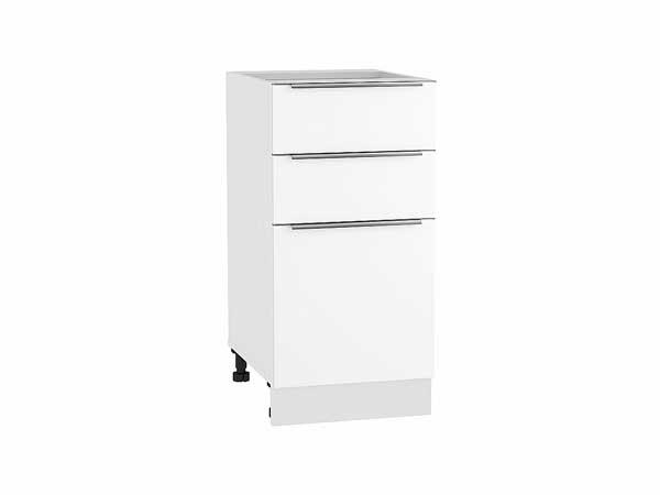Шкаф нижний с 3-мя ящиками Фьюжн 400