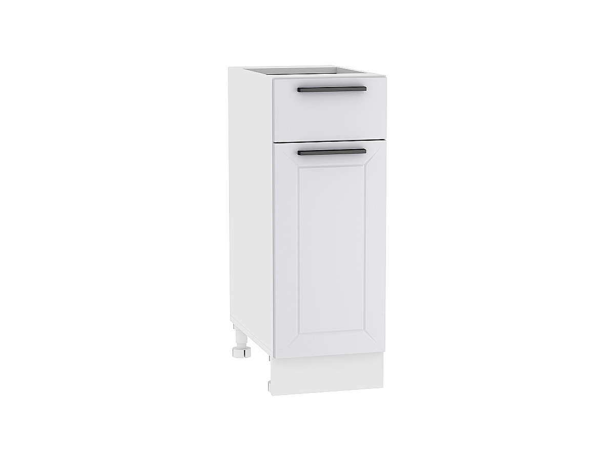 Шкаф нижний с 1-ой дверцей и ящиком Глетчер 300