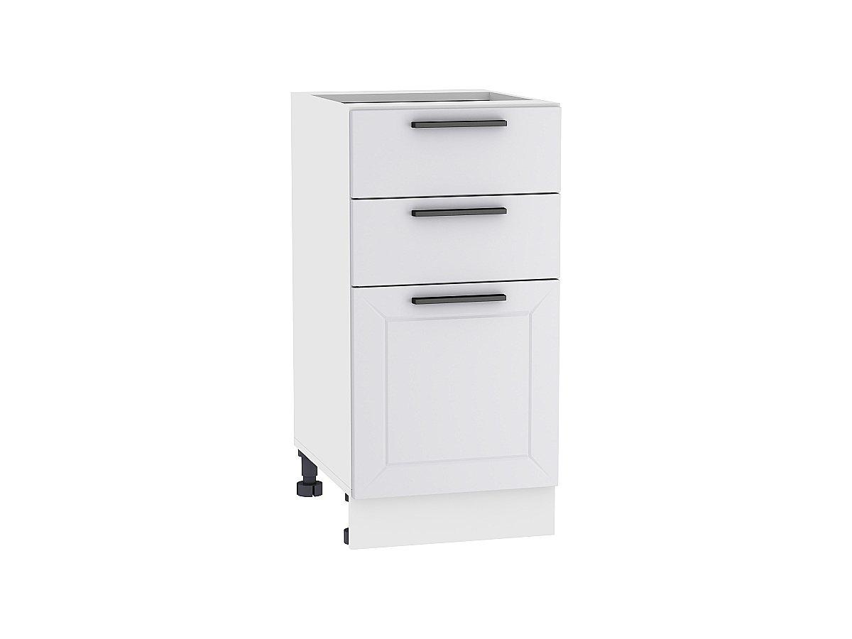 Шкаф нижний с 3-мя ящиками Глетчер 500