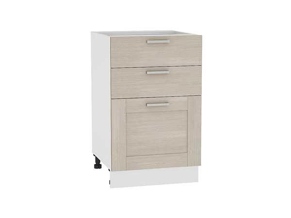Шкаф нижний с 3-мя ящиками Лофт 500