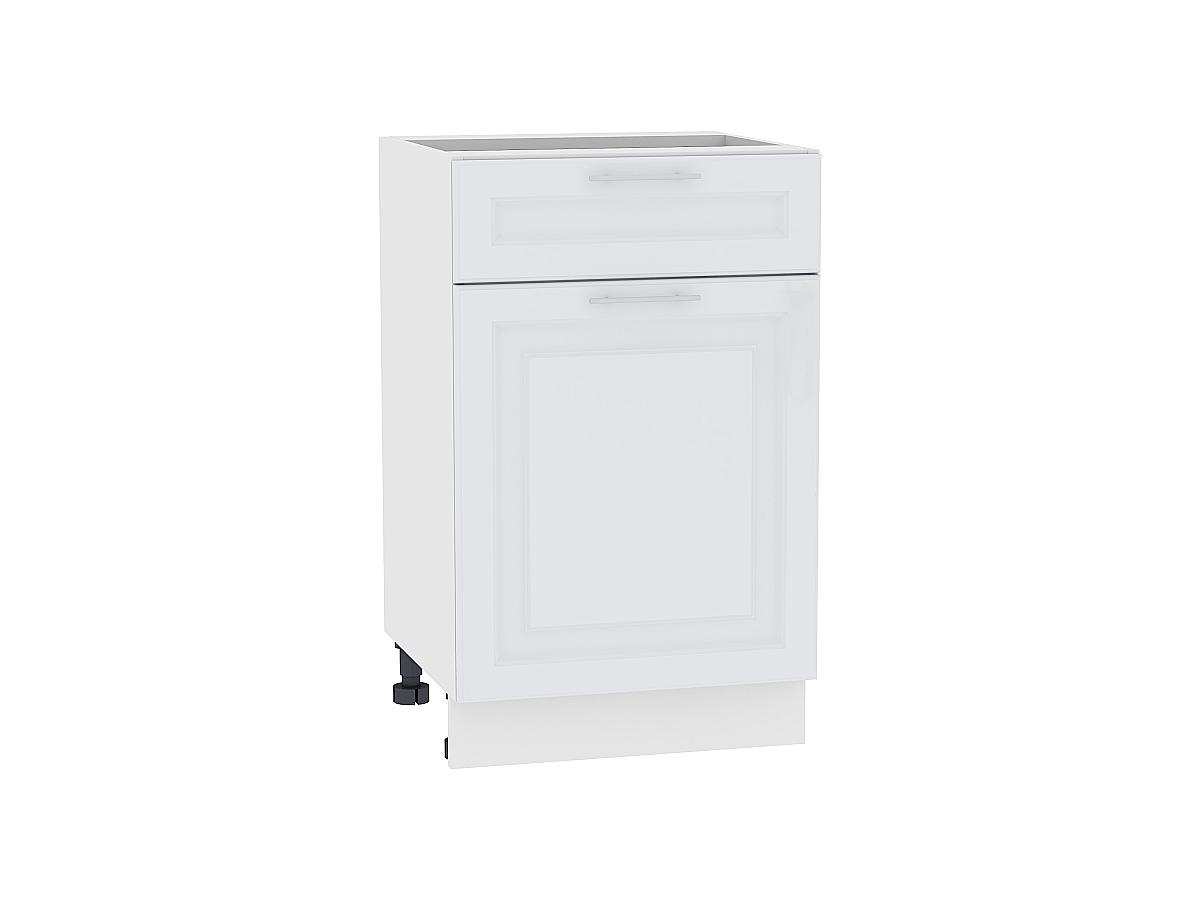 Шкаф нижний с 1-ой дверцей и ящиком Ницца Royal 500