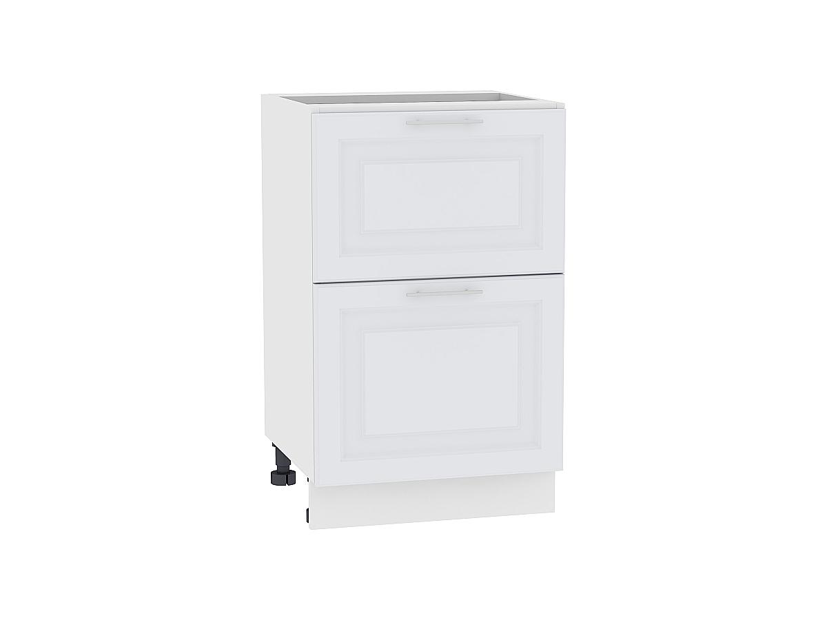 Шкаф нижний с 2-мя ящиками Ницца Royal 600