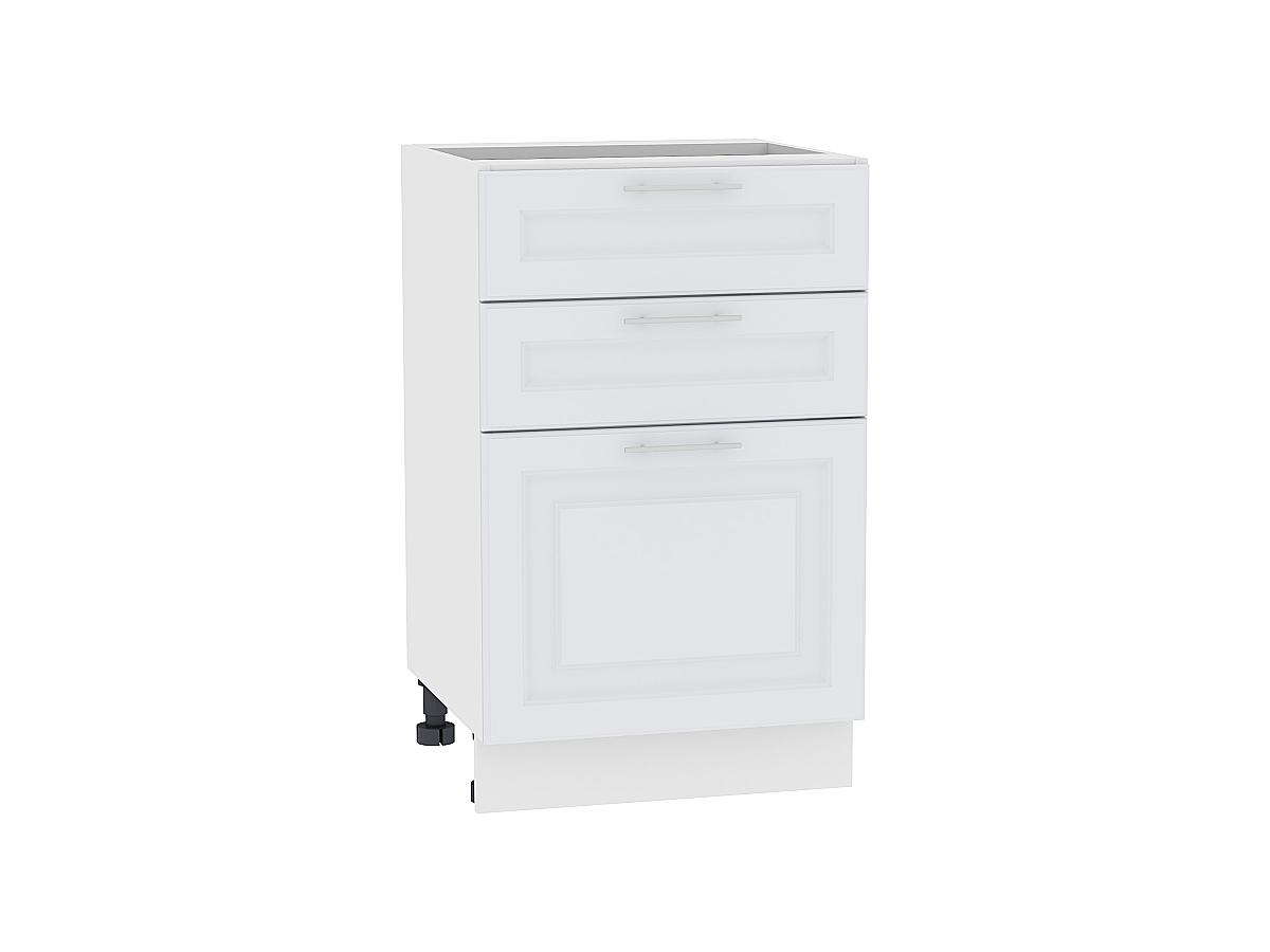 Шкаф нижний с 3-мя ящиками Ницца Royal 600