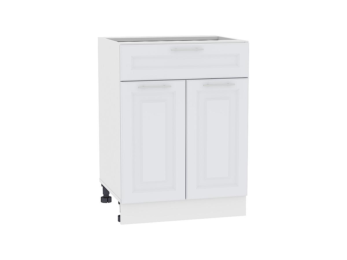 Шкаф нижний с 2-мя дверцами и ящиком Ницца Royal 600