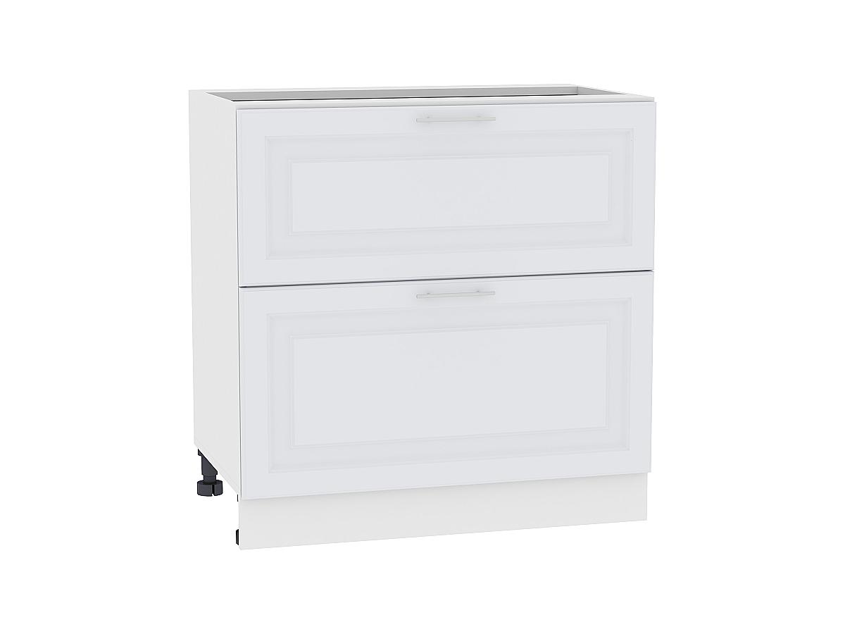 Шкаф нижний с 2-мя ящиками Ницца Royal 800