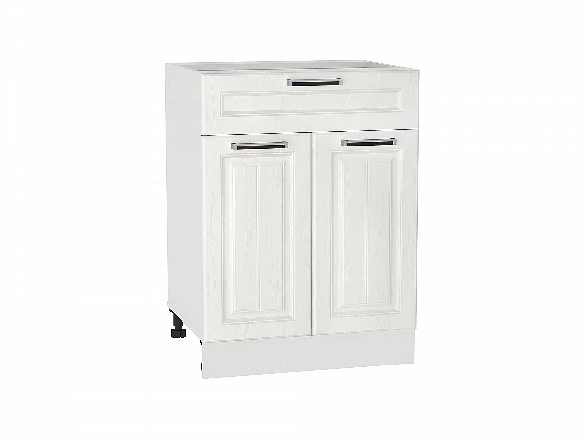 Шкаф нижний с 2-мя дверцами и ящиком Прага 600