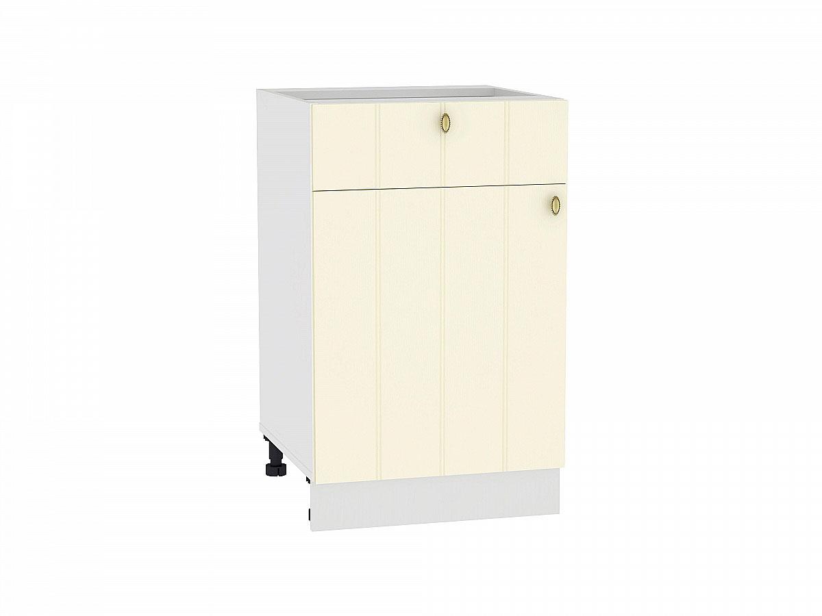 Шкаф нижний с 1-ой дверцей и ящиком Прованс 500
