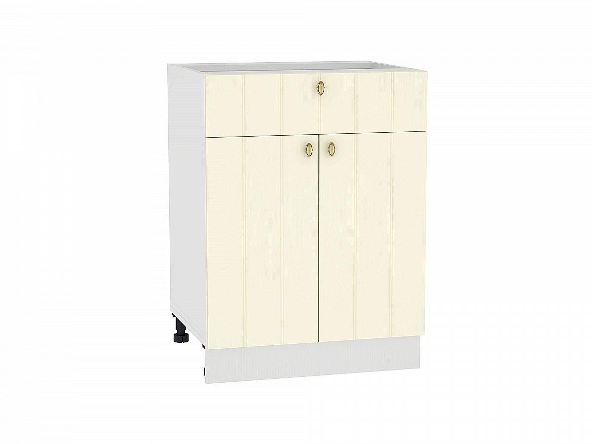 Шкаф нижний с 2-мя дверцами и ящиком Прованс