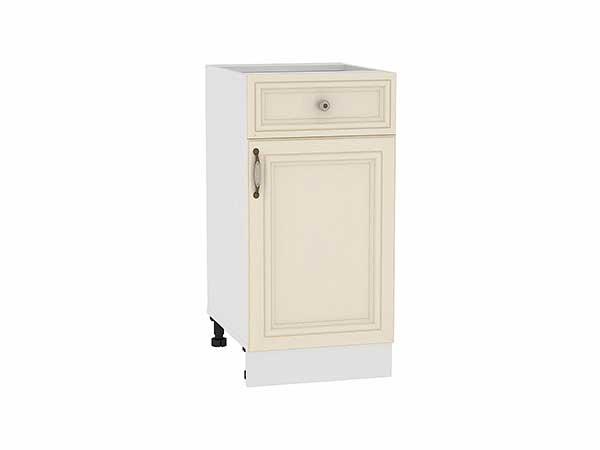 Шкаф нижний с 1-ой дверцей и ящиком Шале 400