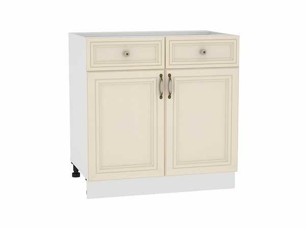 Шкаф нижний с 2-мя дверцами и 2-мя ящиками Шале